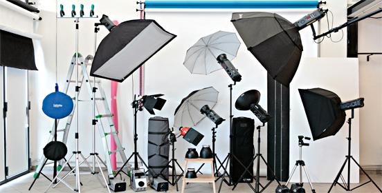 Noleggio set fotografico in Kit